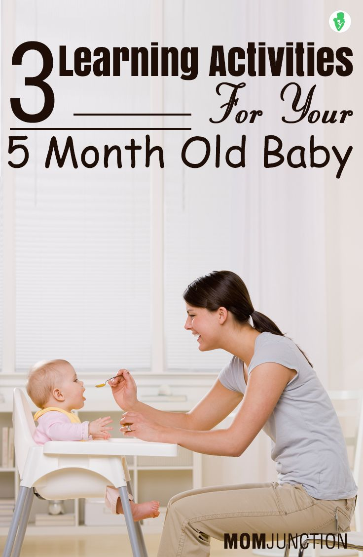 Now that your baby is 5 months old, It is one of the best times to engage yourself with various types of activities. Check few 5 months old baby activities.