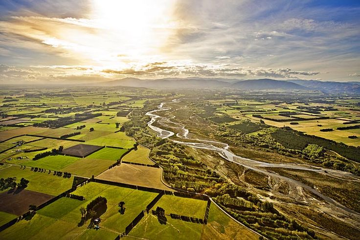 The Ashley River, near Rangiora, see more, learn more, at New Zealand Journeys app for iPad www.gopix.co.nz