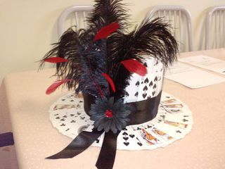 Playing card hat