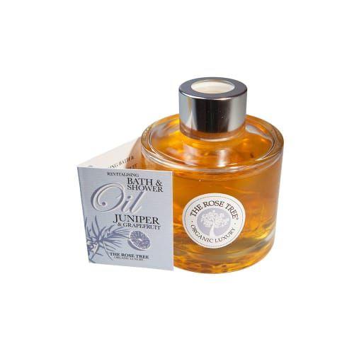 Revitalising Bath & Shower Oil with Juniper & Grapefruit - £25.00 - The Rose Tree