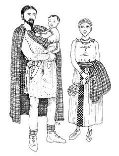 Familj från järnåldern