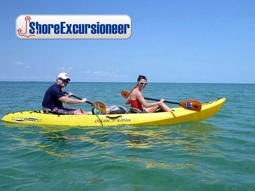 Peterson Cay Kayaking & Snorkel!   Great for first time kayakers and snorkelers.  Enjoy the tiny but beautiful Peterson Cay National Marine Park beach.  http://www.shoreexcursioneer.com/freeport/peterson-cay-kayaking-snorkel.html