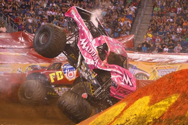 uh oh Madusa crash  Monster trucks  Pinterest  As