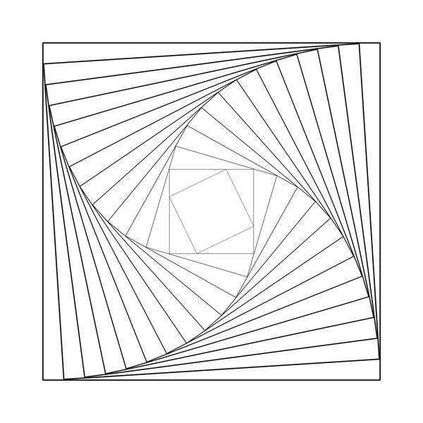 Square Spiral by Geo-met-me.deviantart.com on @deviantART