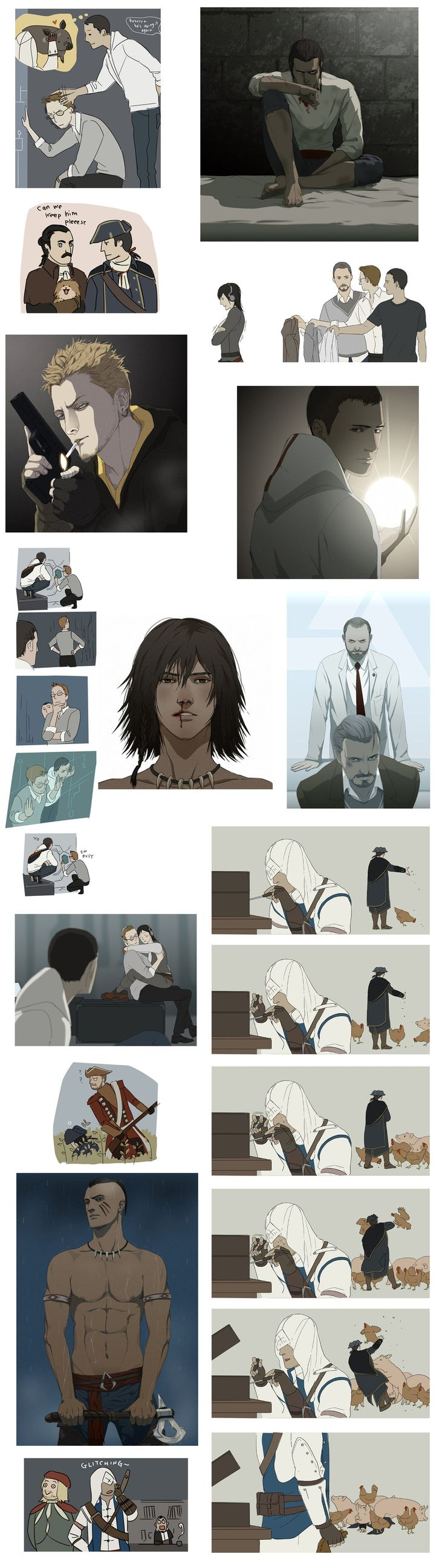 AC3 dump 1 (contains minor spoilers) by *doubleleaf on deviantART