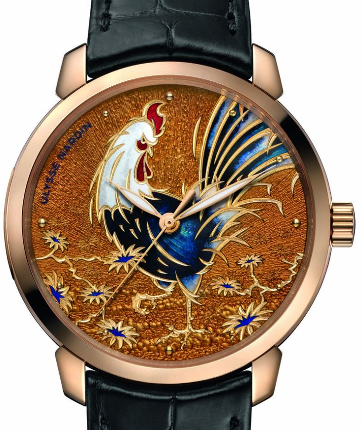"Ulysse Nardin Classico Manufacture Grand Feu, Classico Rooster, & Hourstriker Pin-Up Watches - by Kenny Yeo - More on these really unique pieces up now at aBlogtoWatch.com  - ""For SIHH 2017, Ulysse Nardin is bolstering its Classic collection with not one, not two, but three new watches. There is the Classico Manufacture with a grand feu enamel dial, the Classico Rooster that honors the upcoming Year of the Rooster, and finally, the Classico Hourstriker..."""