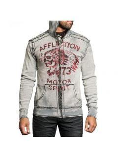 Pánská oboustranná mikina Affliction No Luck Chiefs | MMA shop - vybavení pro bojové sporty a oblečení | Affliction - dámské a pánské značkové oblečení a doplňky