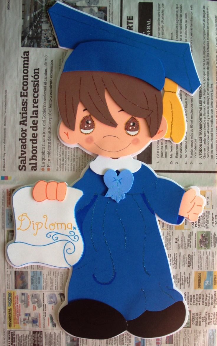 Niño graduado
