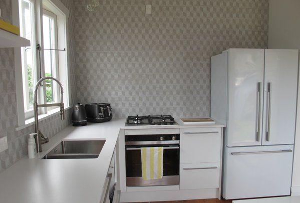 Kitchen approaching the end of renovations. www.onefyfe.co.nz #WaihiBeach #Bach