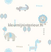 Carousel DL21105 Spits jungle dieren carta da parati kleurmijninterieur.nl