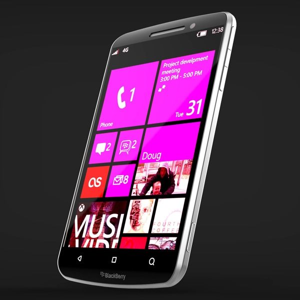 CONCEPT: Blackberry Smartphone with Windows Phone 7 - Would it be possible ?