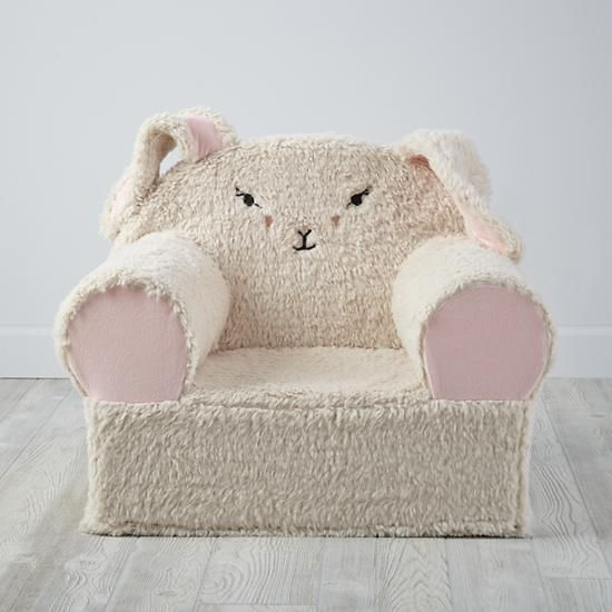 Customizable Furry Bunny Land Of Nod Childrenu0027s Chair Images