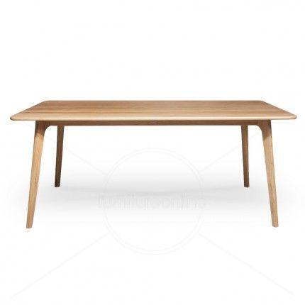 Century Oak Dining Table 180x90x73cm