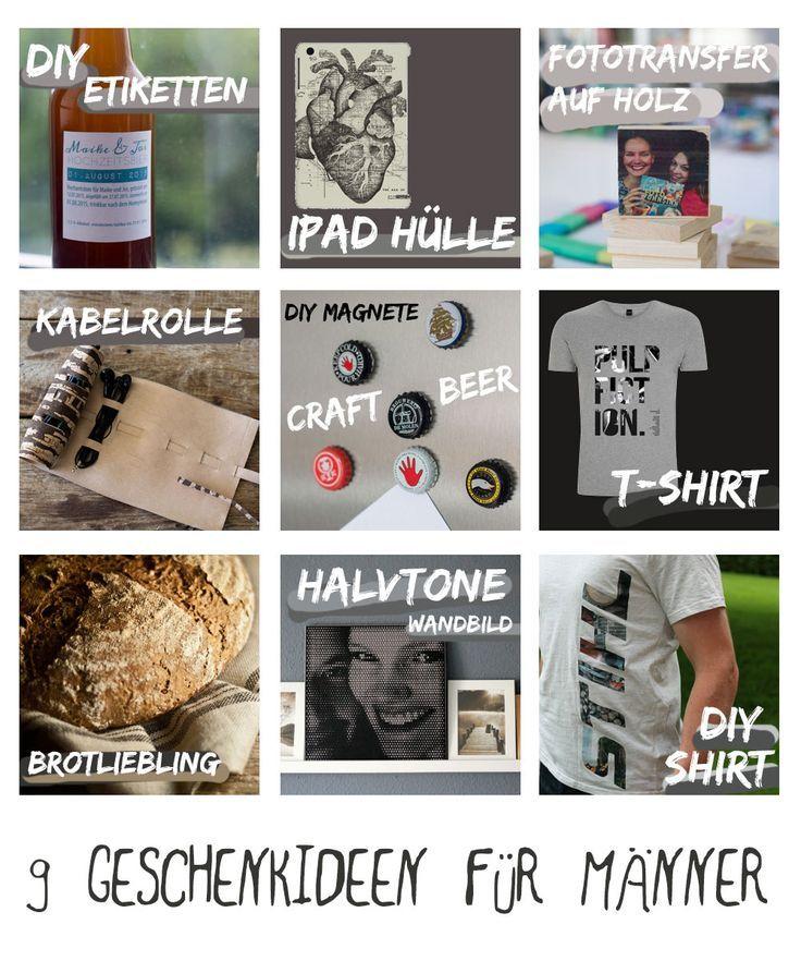 9 Geschenkideen für Männer | Kreativfieber DIY und ...