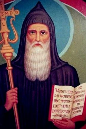 Výsledok vyhľadávania obrázkov pre dopyt san benito, saint benedict, sv.Benedikt