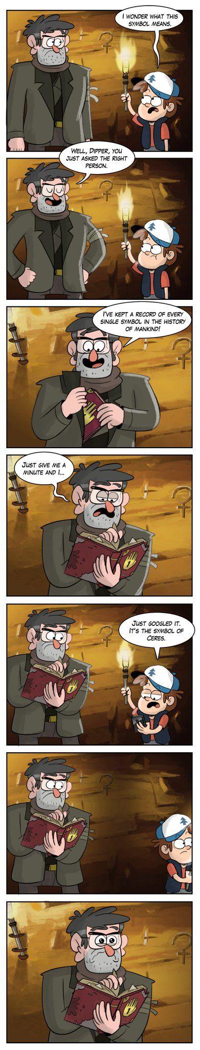 Symbol by markmak on DeviantArt>> Oh my gosh! Poor Stanley!
