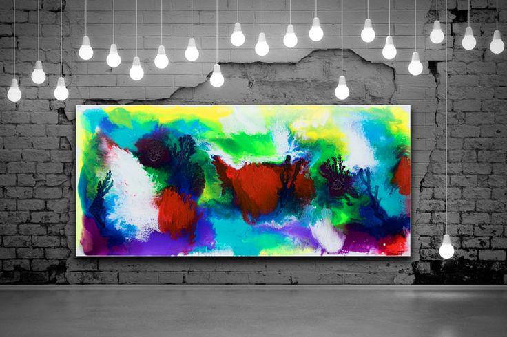 HOME DECOR WITH PAINTINGS !  Deflection I  My website: https://artbylonfeldt.dk/  #art #arts #paintings #painting #fineart #artbylonfeldt