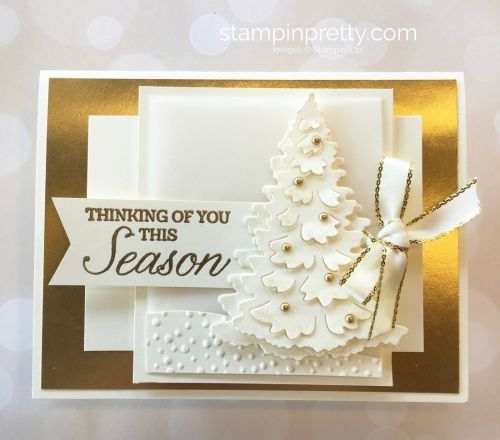Delightful Create A Winter Holiday Christmas Card With Stampin Up Ideas