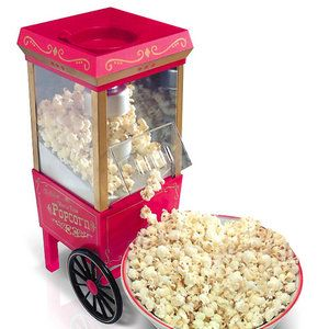 Old-Fashioned Movie Time Popcorn Maker