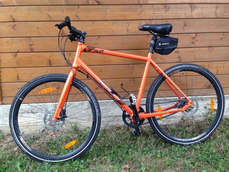 Magnifique VTC Homme (>180cm) - SCOTT. Location vélo VTC SCOTT Homme Villethierry (89140)