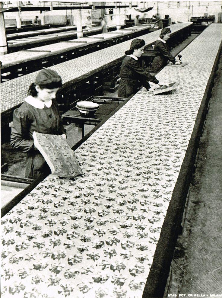 De Angeli Frua - Stampatrici al lavoro
