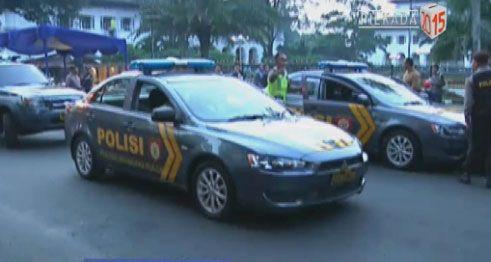 MampirKlik: Ribuan anggota gabungan Polisi dan TNI siap amanka...