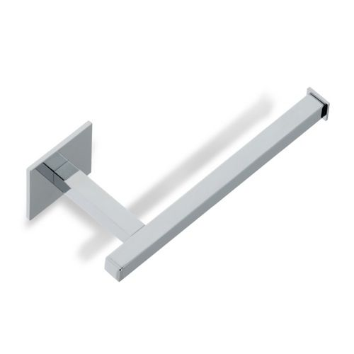 toilet paper holder stilhaus u11 square chrome or brushed nickel toilet paper holder u11