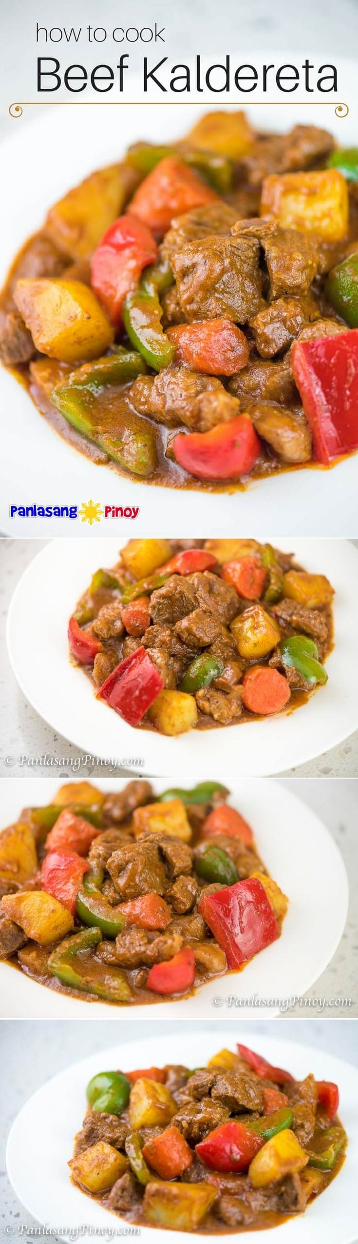 How To Cook Beef Kaldereta - Panlasang Pinoy