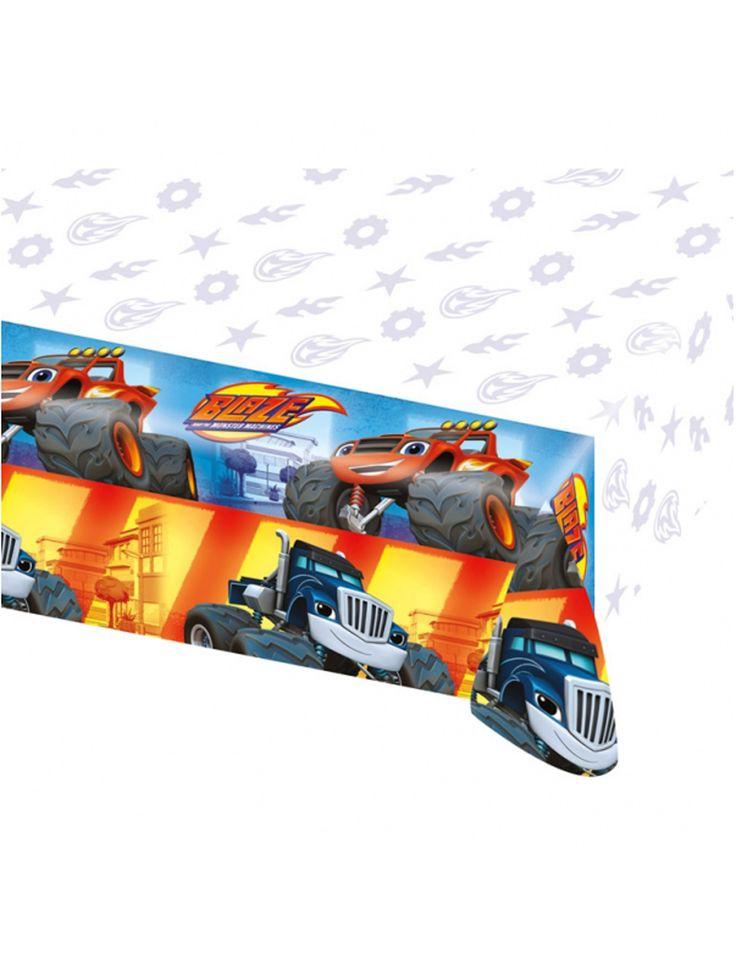 Mantel de plástico Blaze y los Monster Machines™ 120x180 cm