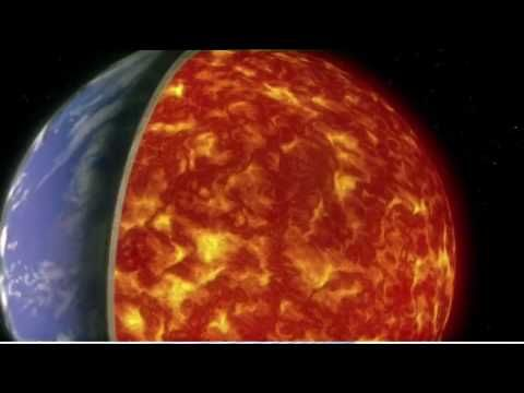 Video - Aufbau der Erde, Erdschichten