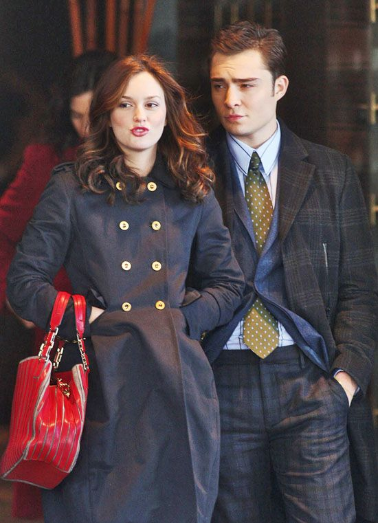 Is chuck and blair from gossip girl dating in real life