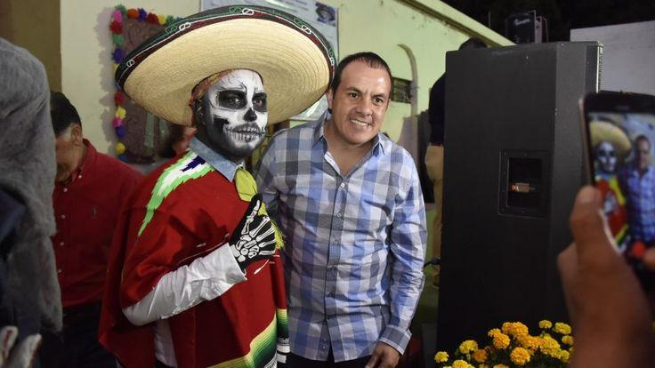 INAUGURA CUAUHTÉMOC BLANCO BRAVO FESTIVAL DE DÍA DE MUERTOS
