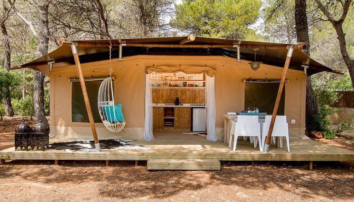 Kamperen in een luxe tent op camping Capritxu op Ibiza - een paradijs op aarde - CampingDreams - Campingblog - Travelblog