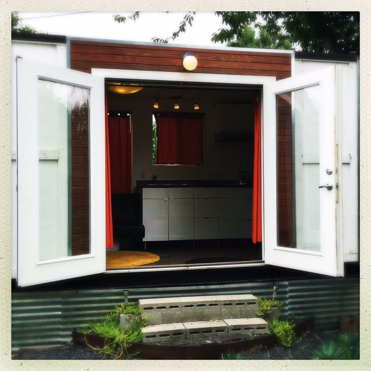 kitchen containers for sale this is a converted shipping container on wheels thats for sale in portland oregon it has a bathroom kitchen and living sleeping space check it out