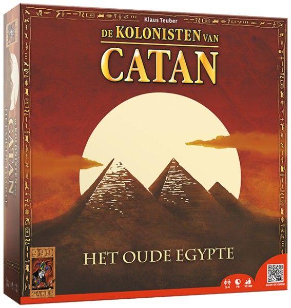 Het bekende handelsspel speelt zich dit keer af in Egypte, de tijd van de farao's. In deze thematische versie van de Kolonisten van Catan kun je bouwen aan de grote piramide en de hulp inroepen van de goden.  http://www.planethappy.nl/999-games-de-kolonisten-het-oude-egypte.html