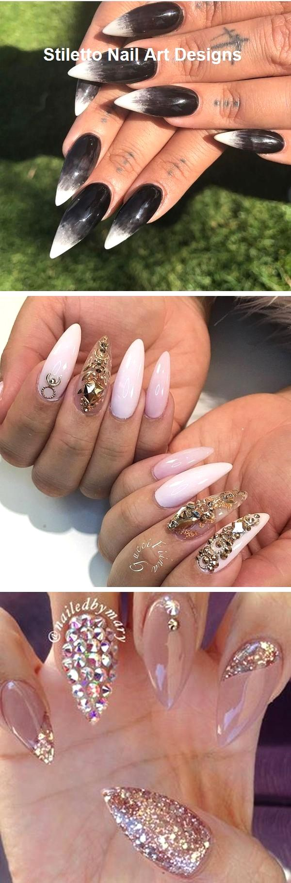 30 Ideen für großartige Stiletto-Nageldesigns #stiletto – Nägel / Nails