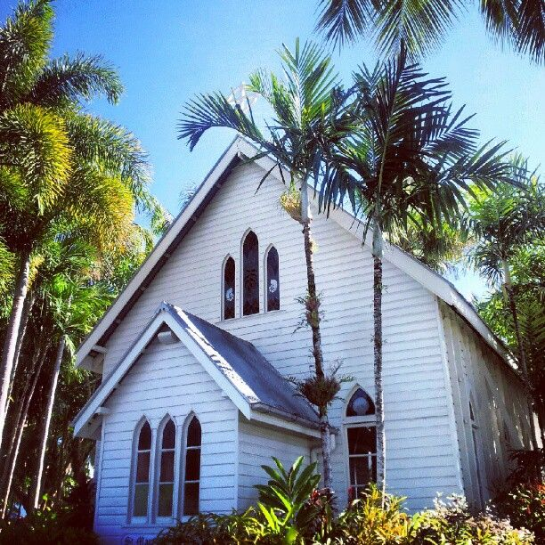 St. Mary's by the Sea - a gorgeous chapel perfect for taking your vows, overlooking the Coral Sea, Port Douglas. ( Mum and Dad were married here 1953)