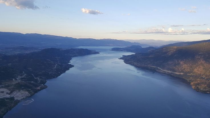 4am helicopter ride over the Okanagan Valley.  June 30, 2016