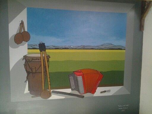 Obra Nativo del Valle inspirada en la famosa composición del maestro Beto Murgas