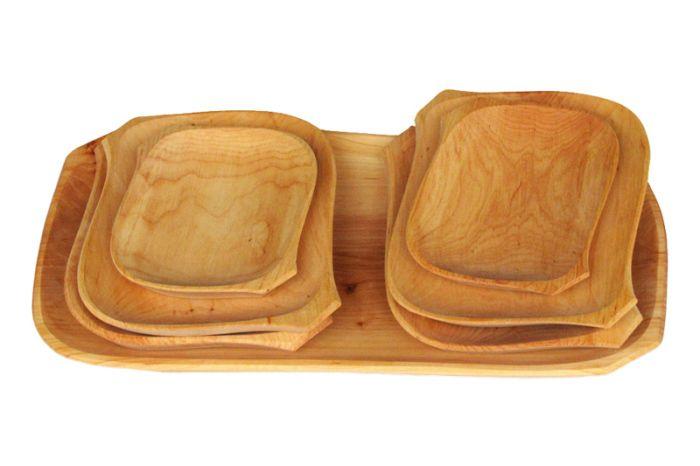 #Trays from cherry wood / #Tace drewniane z czereśni /