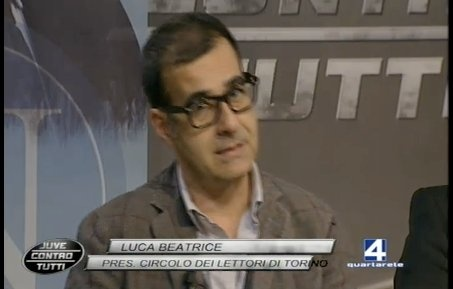 7.05.2012 su quarto canale per parlare di Juventus