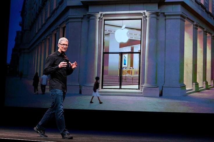 Tim Cook habla acerca de las ventas del iPad y el iPhone.