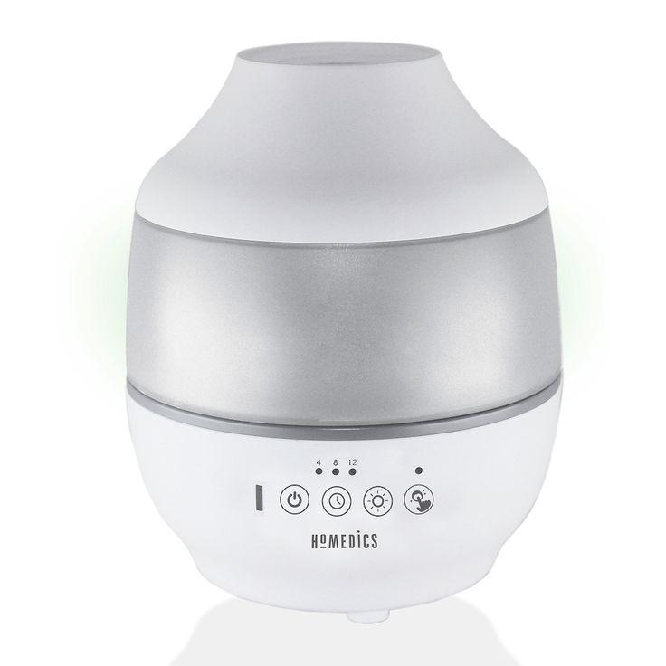 Homedics Total Comfort Ultrasonic Humidifier, White