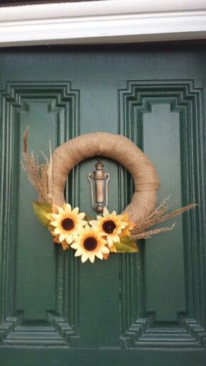 My own diy wreath
