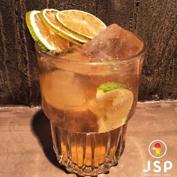 Chilcano De Pisco***** Barsol Pisco/Fentimans Ginger Ale/Fresh Lime Juice/Bitters Cinco JSP Let's rock \m/