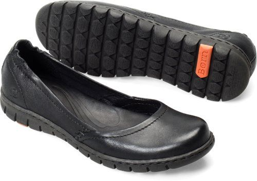Born Womens Reija Black - Borns always make the most comfortable shoes for walking when traveling