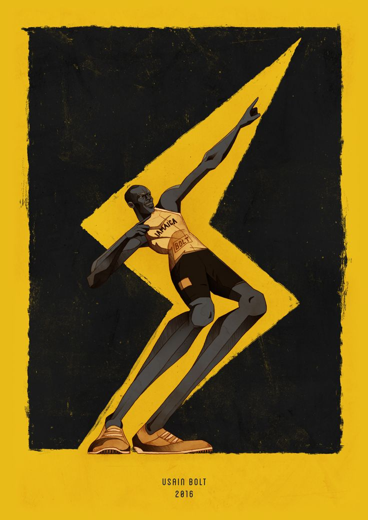 My tribute to Usain Bolt.