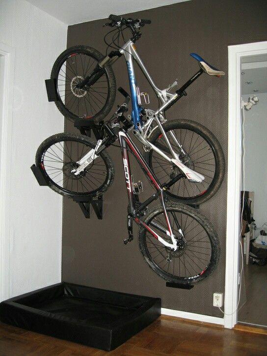Bike Storage, Storage Ideas, Cycling, Garage, Bicycling, Organization  Ideas, Ride A Bike, Organizing Ideas, Garages