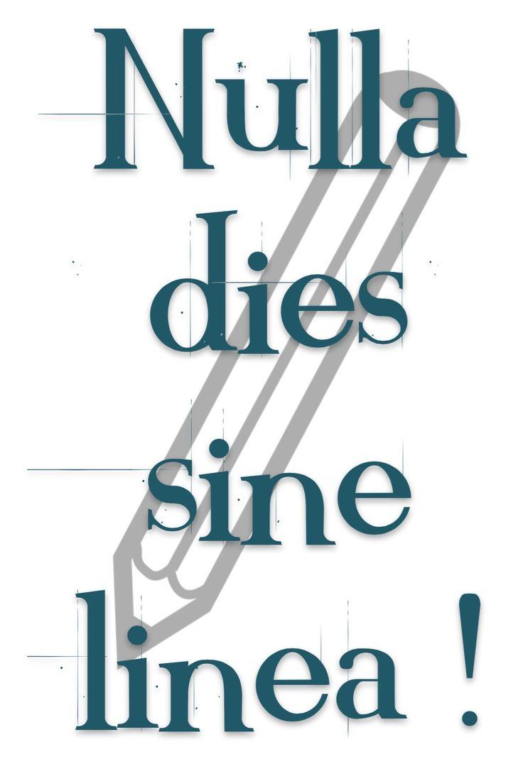Nulla Dies Sine Linea. Apelle
