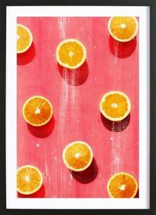 Fruit 5 - LEEMO - Affiche premium encadrée
